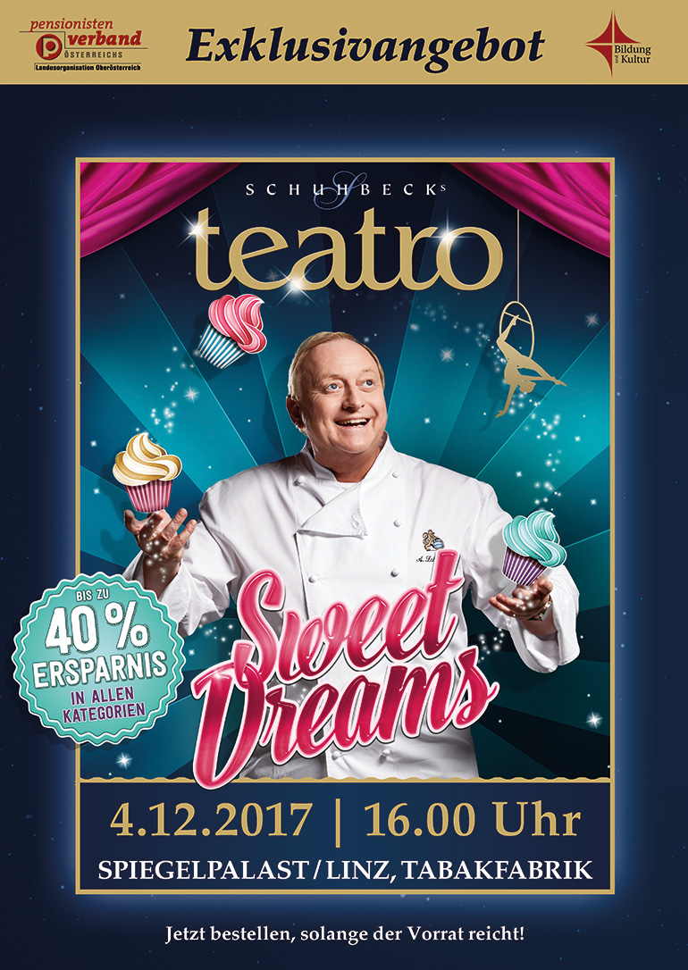 sweet dreams schuhbecks teatro flyer